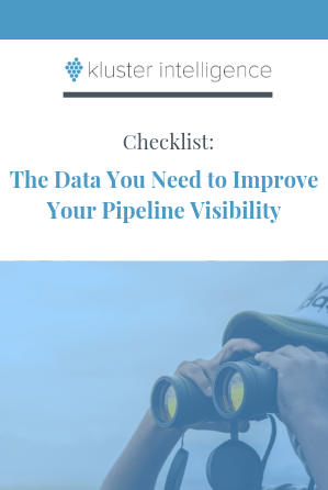 Checklist: The Data You Need to Improve Your Pipeline Visibility
